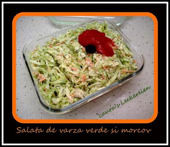 salata din varza verde si morcov