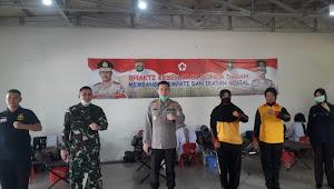 Mencegah Covid-19, Polres Bandara Soetta Lakukan Donor Darah