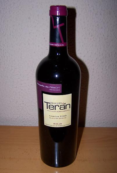 Marqués de Terán Selección Especial 2009, D.o.c Rioja