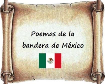 Poemas de la bandera de México