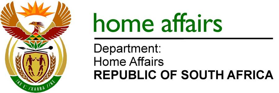 DEPARTMENT OF HOME AFFAIRS: 140 SMART-ID CARD OFFICES IN SA