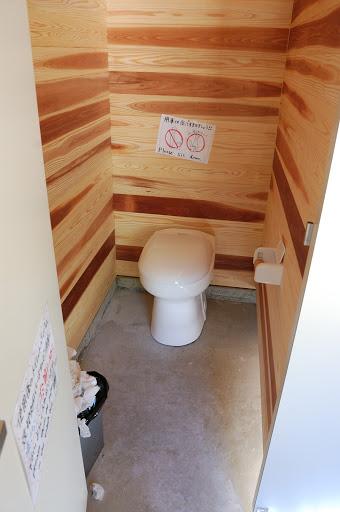 ババ平のトイレ
