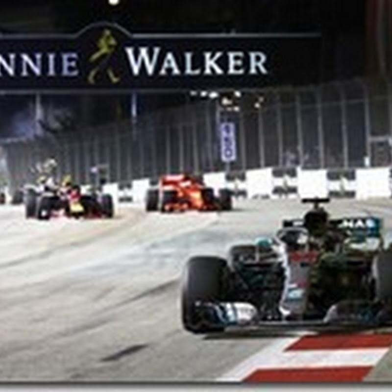 GP di Singapore: Hamilton vince e mette le mani sul titolo