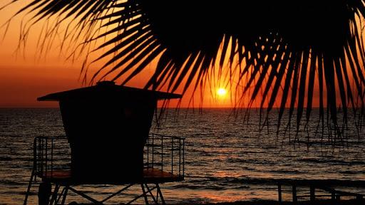 Lifeguard Station at Sunset, Florida.jpg