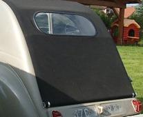 Citroën 1949 2 CV capote longue petite fenêtre