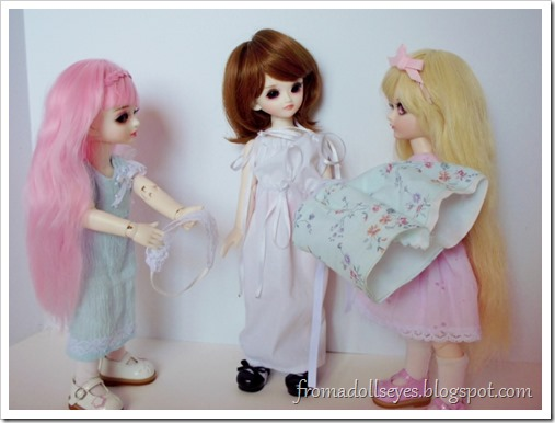 Dressing the new bjd | From a Doll's Eyes