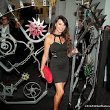 WWW.ENTSIMAGES.COM -     Lizzie Cundy at      Bob Dylan: Mood Swings Exhibition at Halcyon Gallery, New Bond Street, London November 14th 2013                                                 Photo Mobis Photos/OIC 0203 174 1069