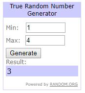 PFP winner week 460 2nd redrawn