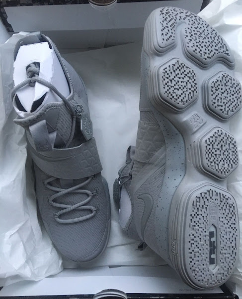3M Covered Greyout Nike LeBron 14 Joins Outlet Exclusive
