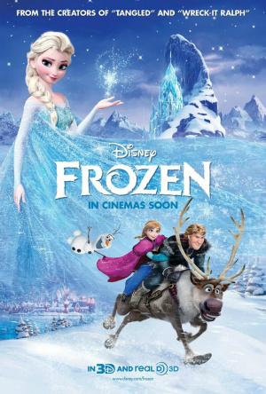 Filme Poster Frozen – Uma Aventura Congelante TS XviD & RMVB Legendado