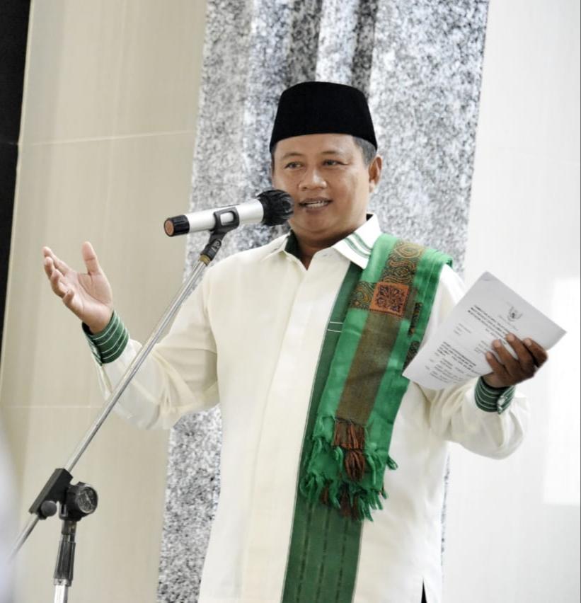 Uu Ruzhanul Bahas Pembentukan Kampung Santri di Kecamatan Manonjaya