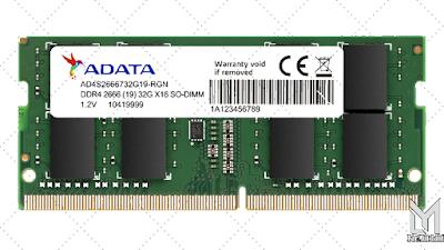Brand Memory Laptop Terbaik : Adata