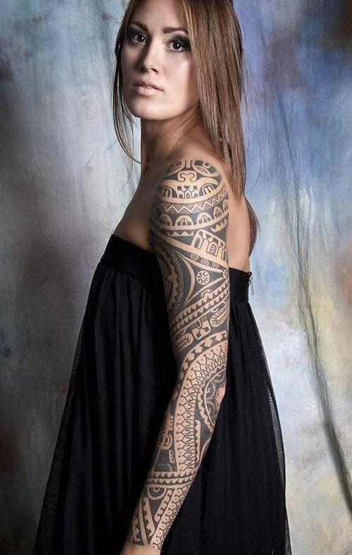 esta_perfeito_tribal_luva_cheia_de_tatuagem