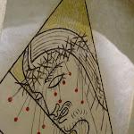 Chapelle Saint-Blaise-des-Simples : fresque du choeur