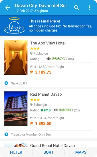 Traveloka Hotel Booking