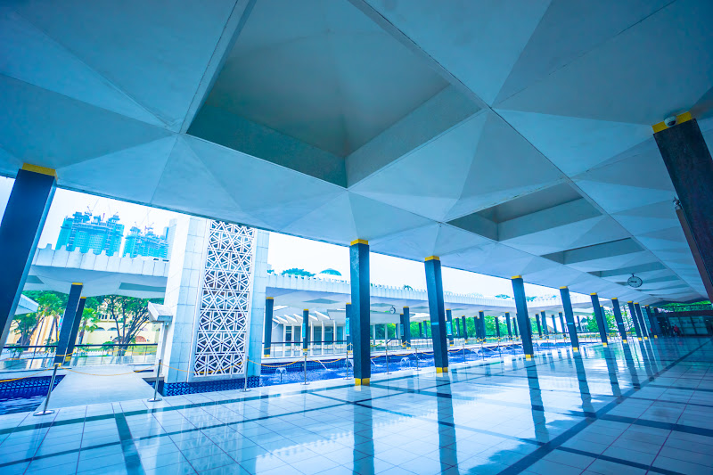 クアラルンプール 国立モスク15