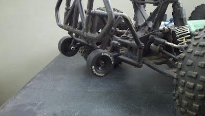 RPM Sl4sh bumper, wheelie bar combo mod