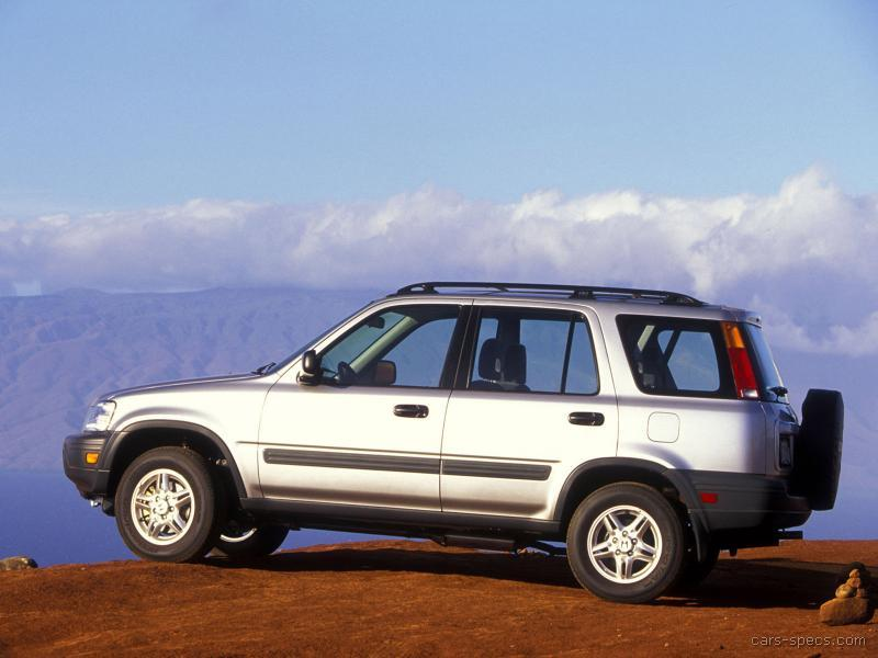 1999 Honda CRV SUV Specifications Pictures Prices