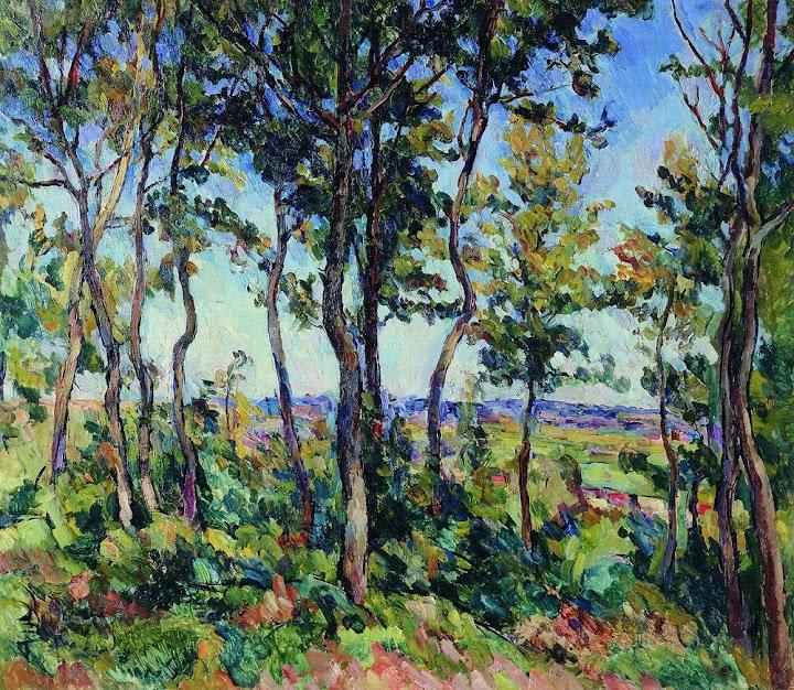 Pyotr Konchalovsky - Young oaks