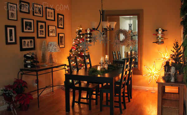 Star light Christmas Dining Room