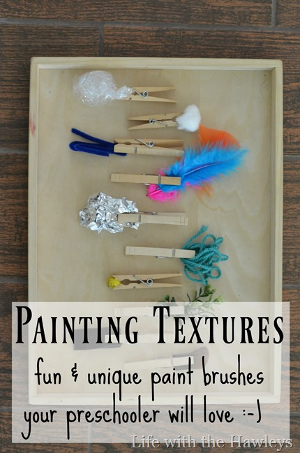 Painting Textures- Life with the Hawleys