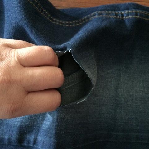 tutorial hazlo tu mismo pantalones vaqueros rasgados corte tijera