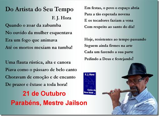 Parabéns, Mestre Jailson