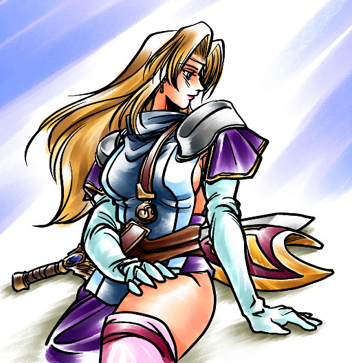 Nonsp02, Warrior Girls 1