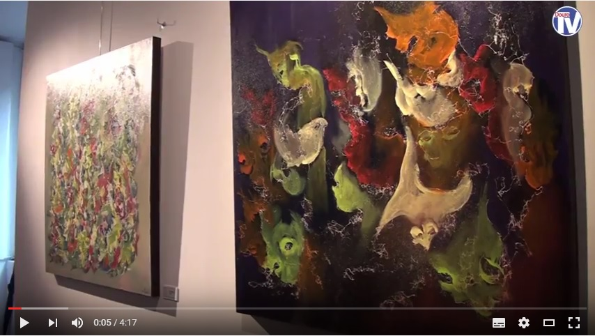 Vídeo - Pintor De Matos expõe no Museu Diocesano de Lamego