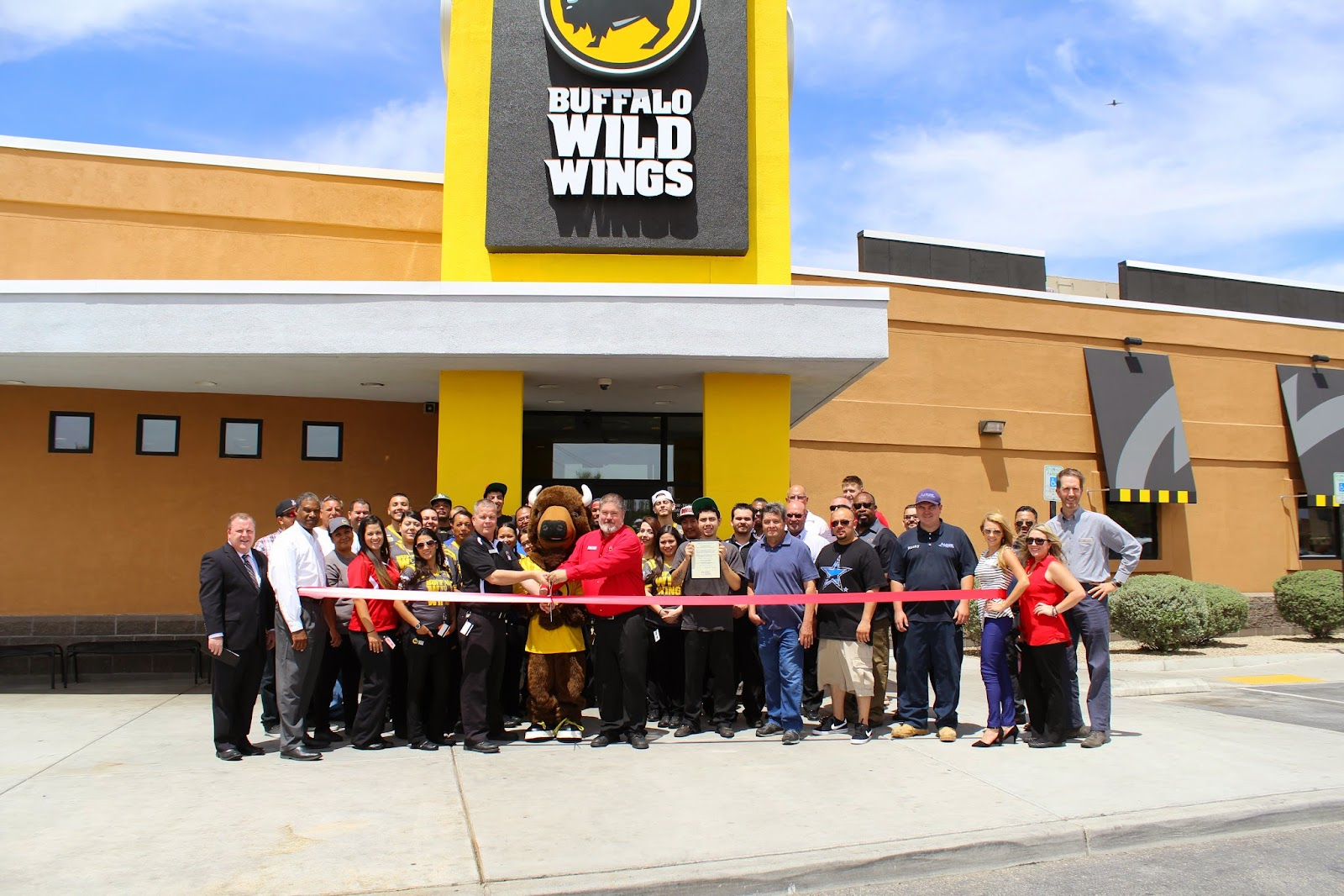 The Tucson-Irvington Rd Buffalo Wild Wings will boast a brand new interior including updated TVs and AV Package so that guests can enjoy hot wings, cold beer, and sports on dozens of big screens in a refreshed atmosphere.  Buffalo Wild Wings 1390 West Irvington Rd (520) 799-9464