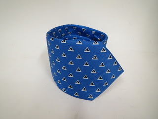 Ralph Lauren Black Label Geometric Tie