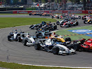 Frist Corner after start of 2007 F1 GP of Italy