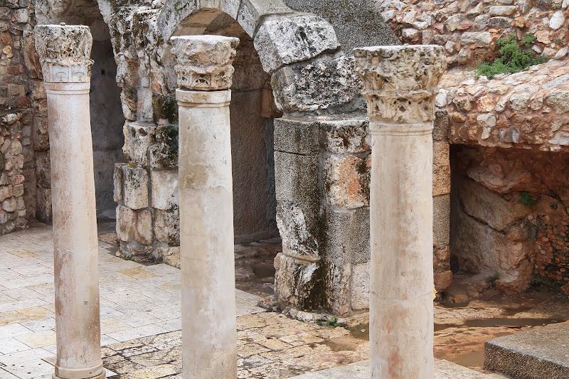Stare Rzymskie pozostałości w Jerozolimie