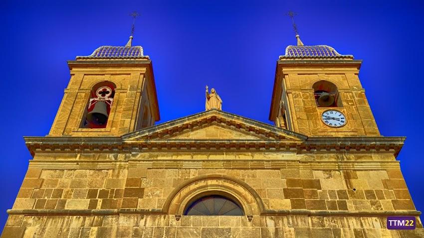 Nikon D5100, 18-55 mm, Edificios y Monumentos, Iglesia de San Juan Bautista, Iglesias, Campanario, Sant Joan d'Alacant, HDR,