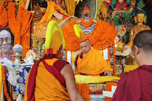 Long life puja, Kopan Monastery, June 2011.
