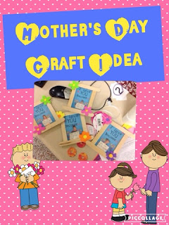 This post shows how to make a cute Mother's Day gift idea.