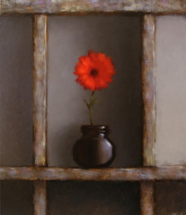 Neil Nelson - Red flower