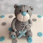 Grey teddy christening cake 2.JPG