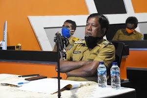 Bupati Soppeng Ikuti Rakor dengan KPK.