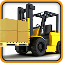Extreme Heavy Forklift Game icon