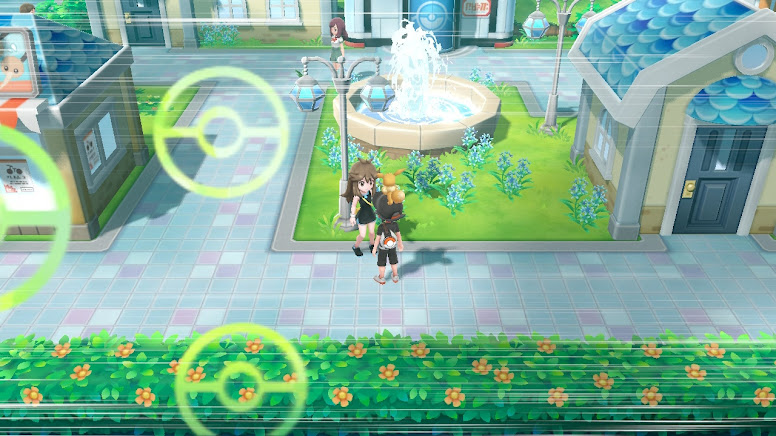 Pokémon Let's Go Pikachu & Eevee - Green