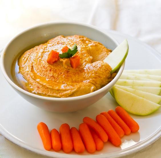 Sweet Potato Hummus. Cajun Spiced. Tartine too.