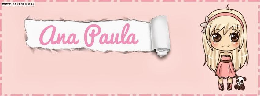 Capas para Facebook Ana Paula