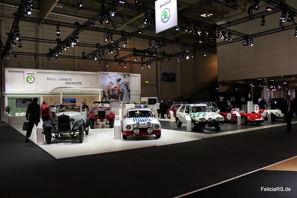 Škoda Stand auf der Techno Classica 2016