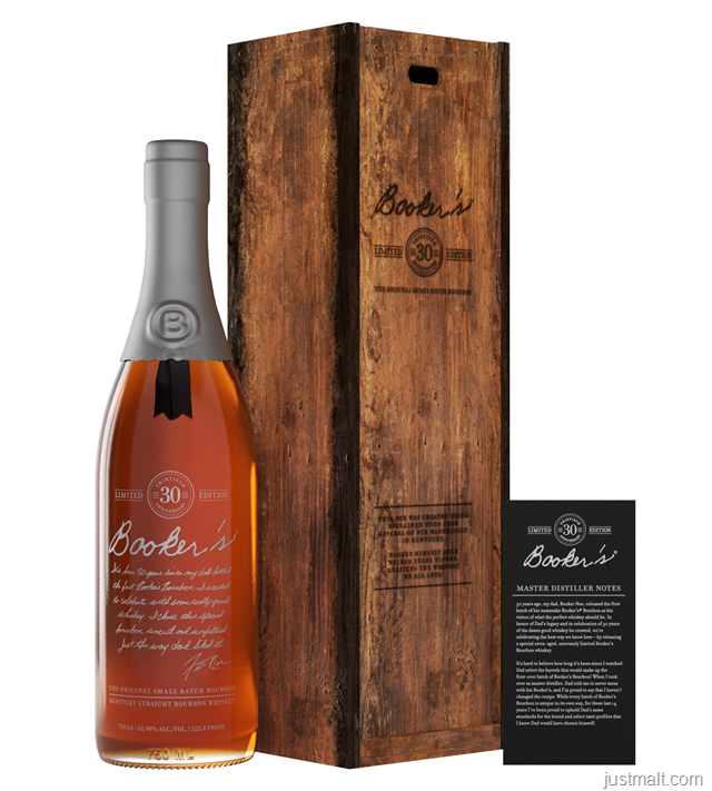 Booker's® Bourbon Celebrates Three Decades With The Release Of Booker's® 30th Anniversary Bourbon