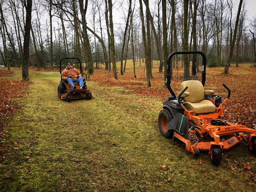 Clearing on the ski trails, removing leaves and deadfall. It has been an incredible fall for trail maintenance. Outside of the regular mowing during the summer, this is the most trail we have cleared for early season skiing. Let it snow!
