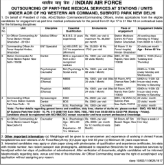 HQ-Western-Air-Command-IAF-Jobs-2017-indgovtjobs