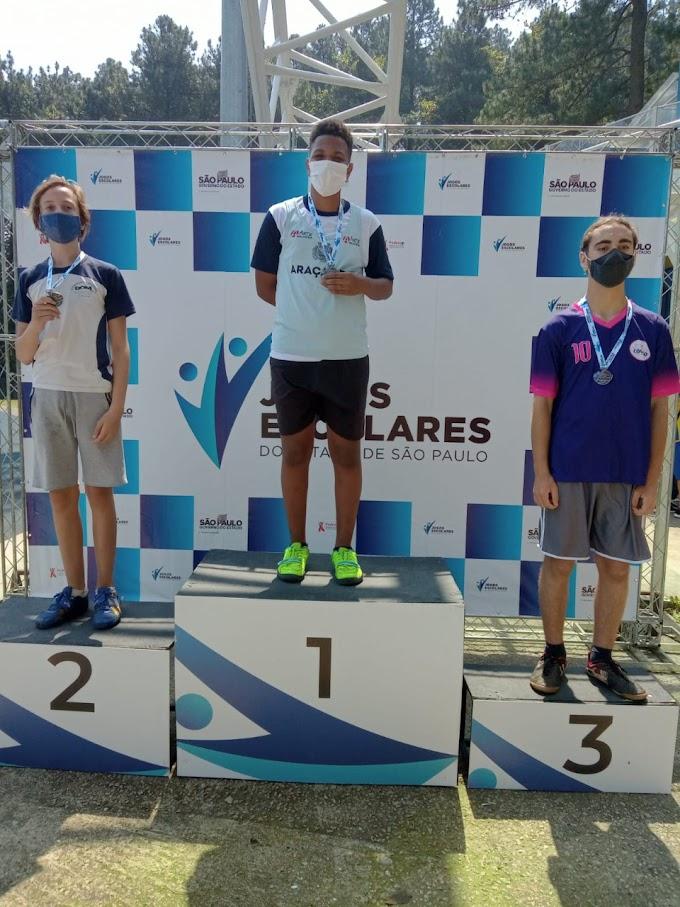Atletismo de Araçatuba segue com pódios nos Jogos Escolares Estaduais