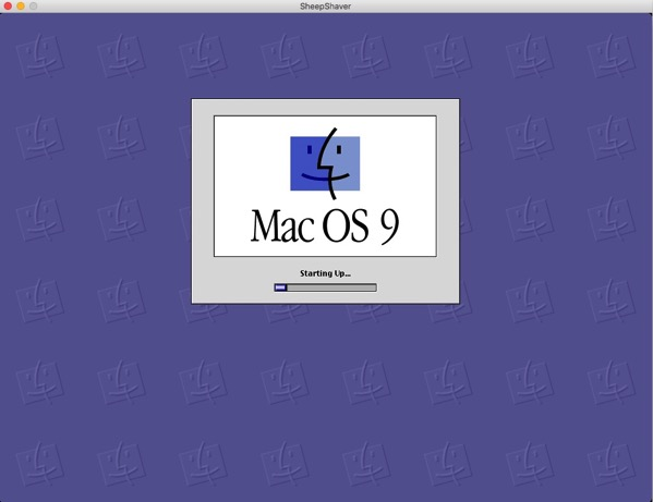 8 Boot Screen for OS 9