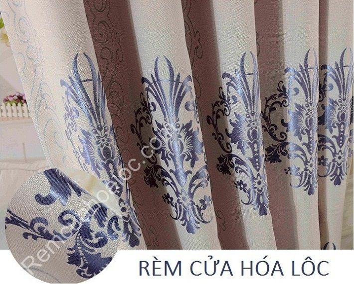 Rèm cửa đẹp tại hà nội hoa vector châu âu 4